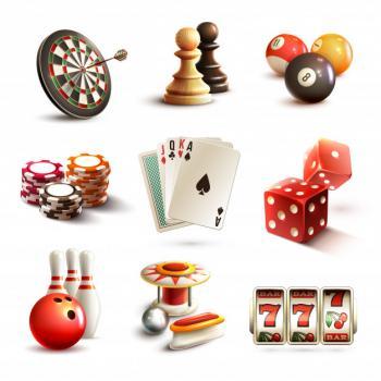 värikkäitä casinologoja